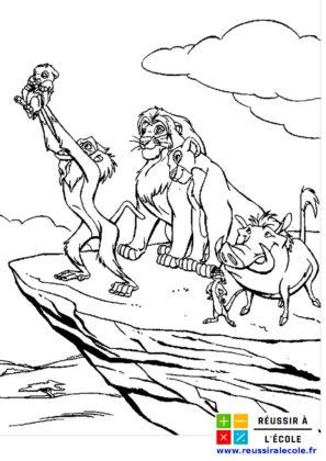 dessin le roi lion