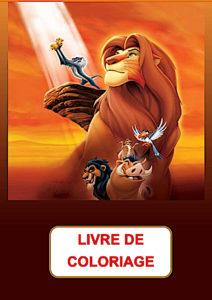 livre de coloriage roi lion pdf