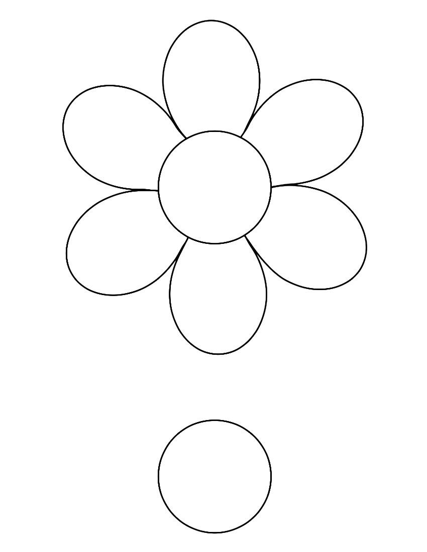 modele fleur papier
