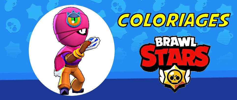 coloriage brawl stars à imprimer