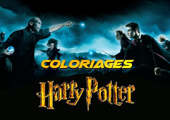 coloriage harry potter