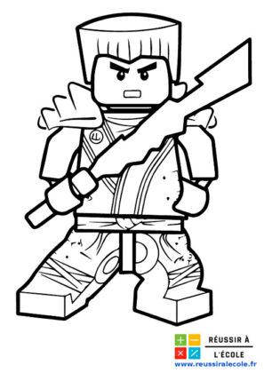 coloriage lego ninjago
