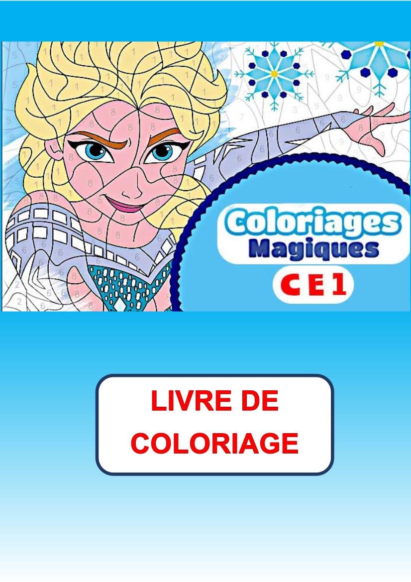 Coloriage Magique CE32   32 dessins à télécharger et à imprimer