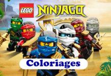 coloriage ninjago