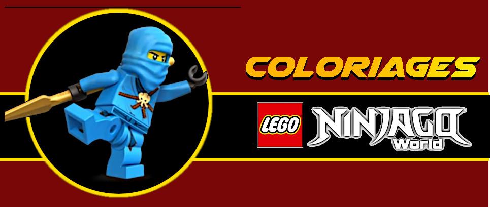 coloriage ninjago jay