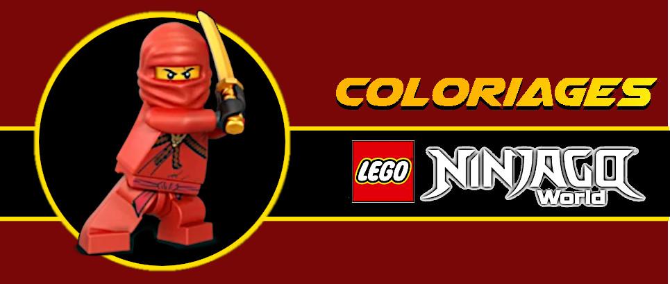 coloriage kai ninjago