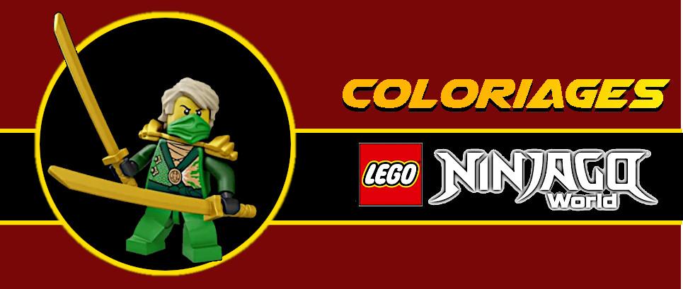 coloriage ninjago lloyd