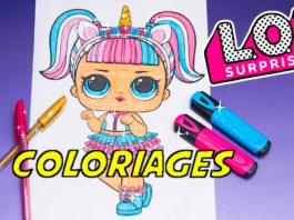 coloriage poupee lol