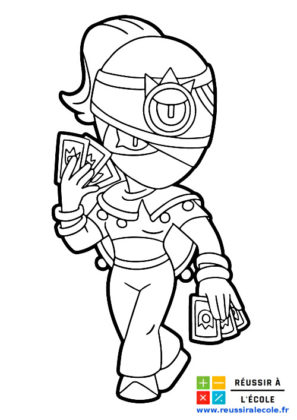 coloriages brawl stars