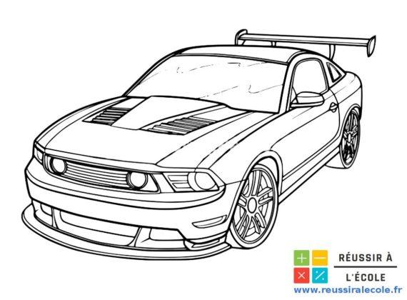 dessin voiture