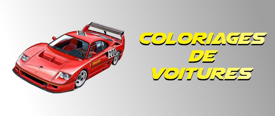 dessin voiture de course