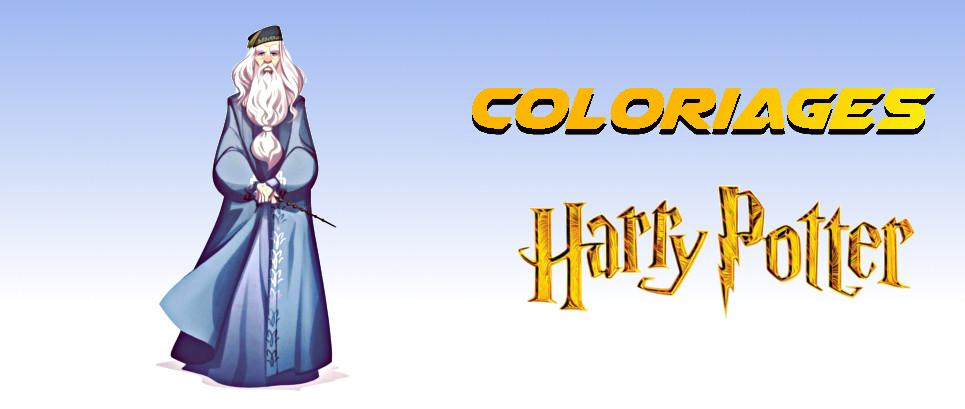 harry potter coloriage