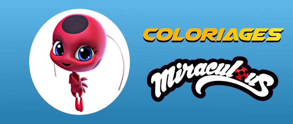 coloriage miraculous tous les kwami