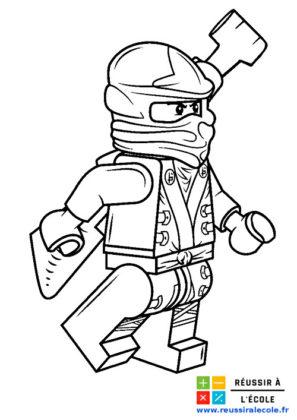 ninjago coloriage