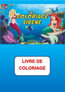 coloriage sirene pdf