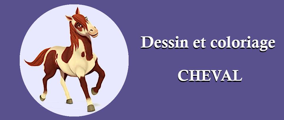 coloriages chevaux