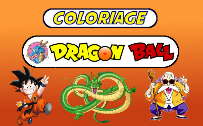 coloriage dragon ball