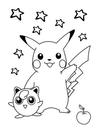 coloriage pokemon pikachu