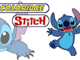 coloriage stitch
