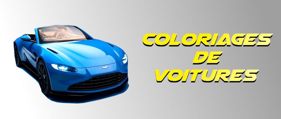 coloriage voiture de sport