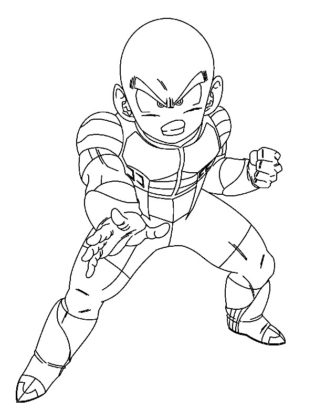 coloriages dragon ball