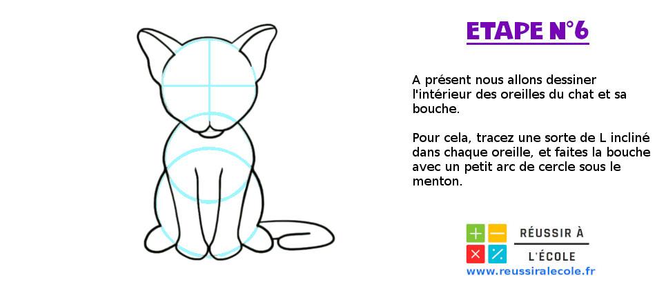 comment dessiner un chat facilement