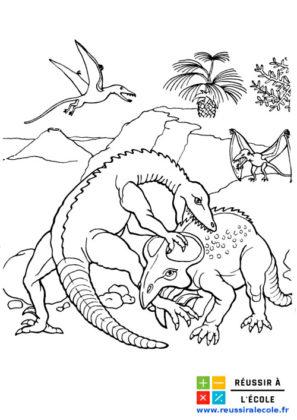 dessin de dinosaure