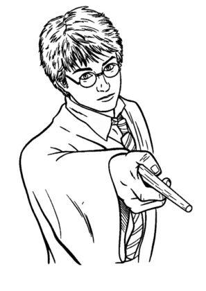 dessin harry potter