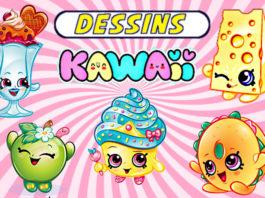 dessin kawaii nourriture