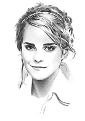 hermione granger dessin