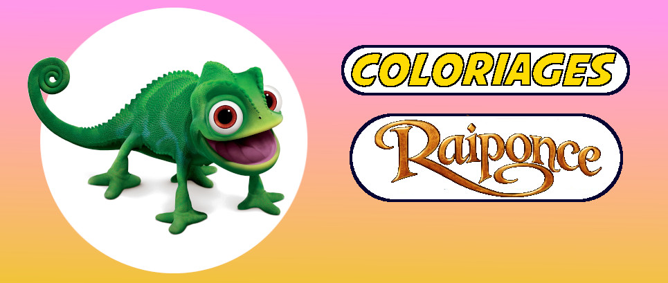 raiponce coloriage