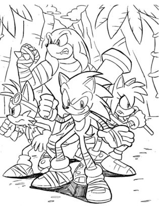 sonic tails knuckles
