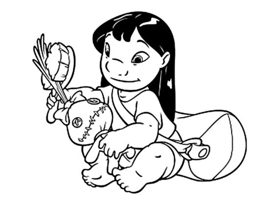 stitch dessin
