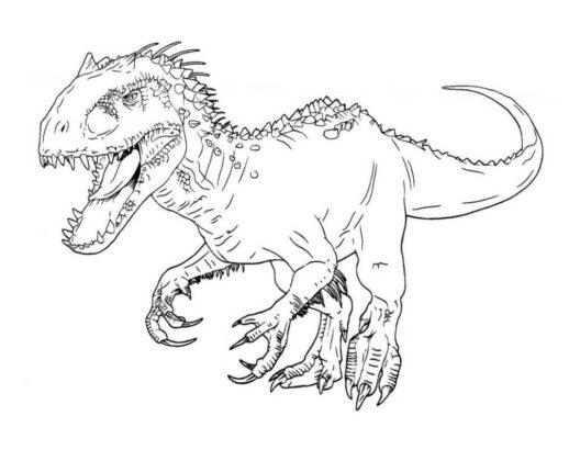 velociraptor dessin