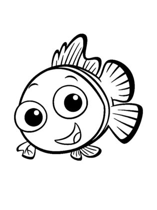 coloriage poissons