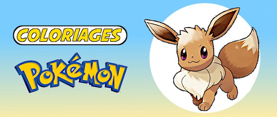 coloriage pokemon evoli