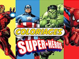 coloriage super héros