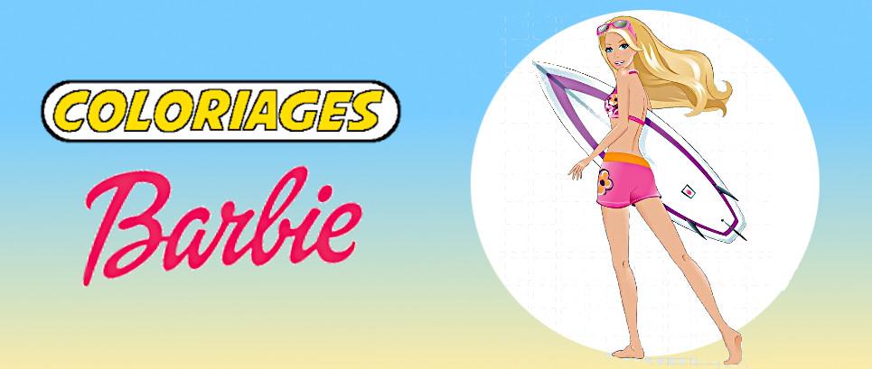 coloriages barbie
