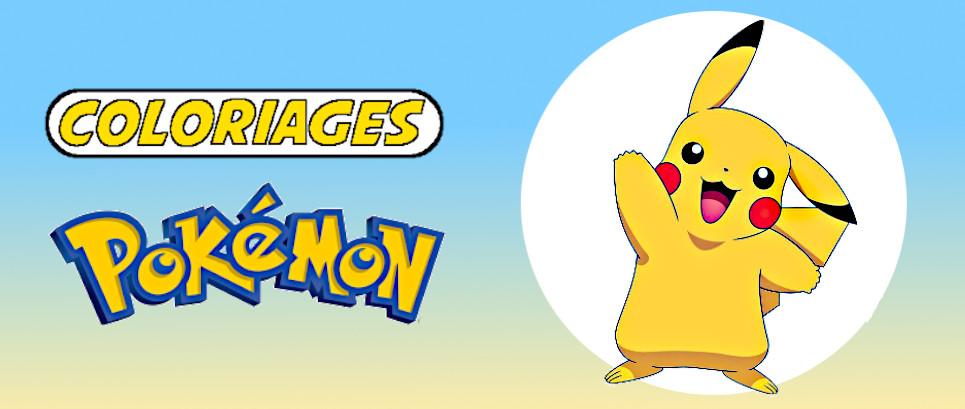 imprimer coloriage pokemon