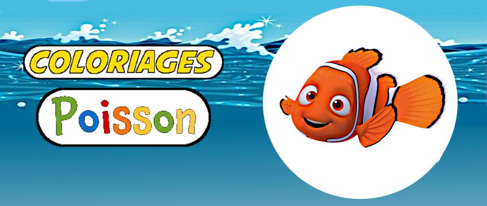 coloriages de poissons