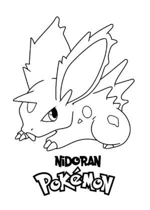 pokemon a colorier