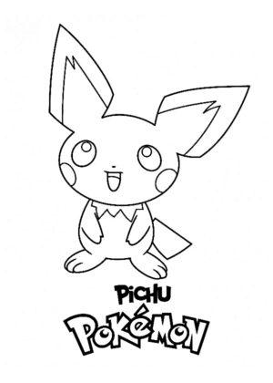pokemon coloriage