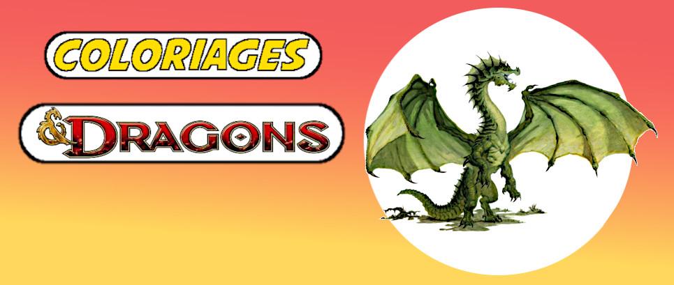 coloriage de dragon