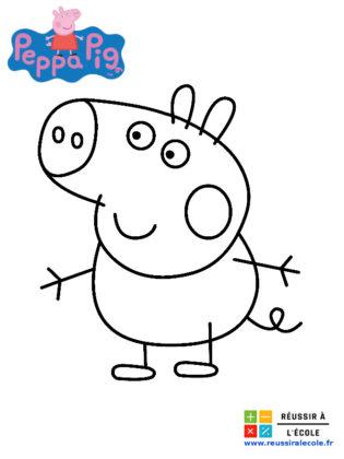 coloriage pepa pig