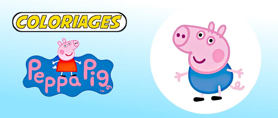 coloriage peppa pig à imprimer