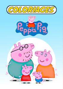 coloriage peppa pig pdf