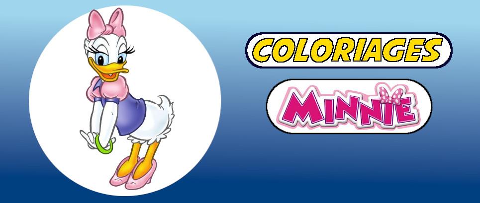 minnie coloriage
