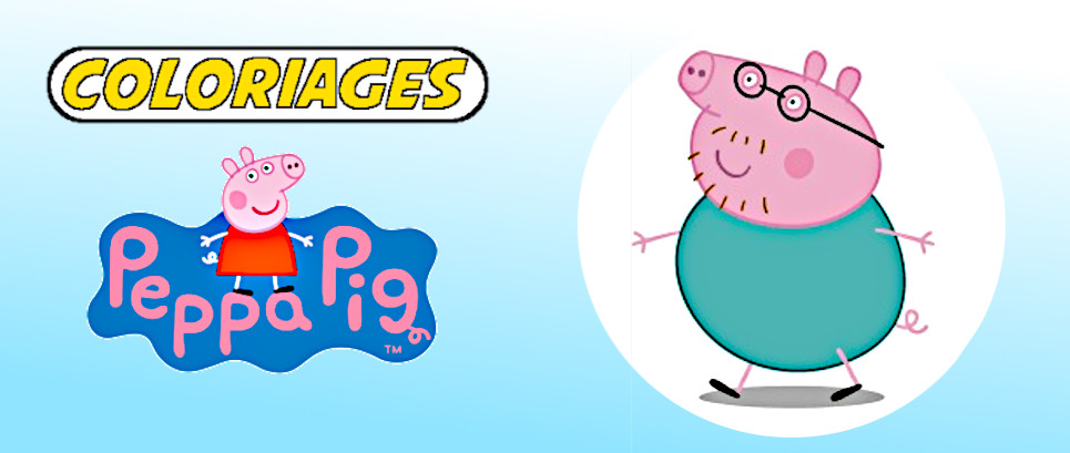 peppa pig a colorier