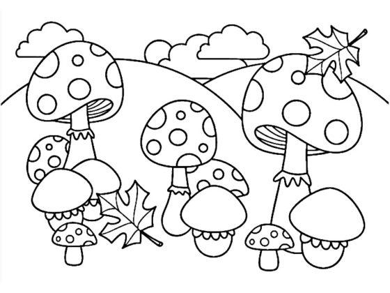 coloriage automne maternelle