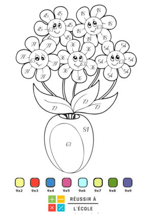 coloriage magique à imprimer